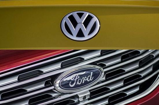 福特与大众将宣布自动驾驶和电动汽车合作