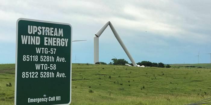 GE今年在美已发生第三次风机倒塔事故
