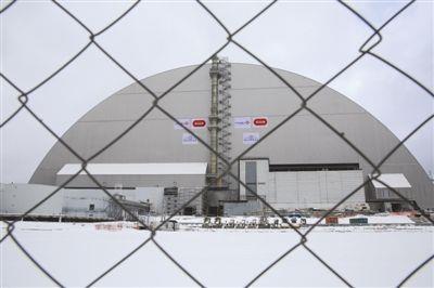 耗时7年 切尔诺贝利核电站新掩体正式投入使用