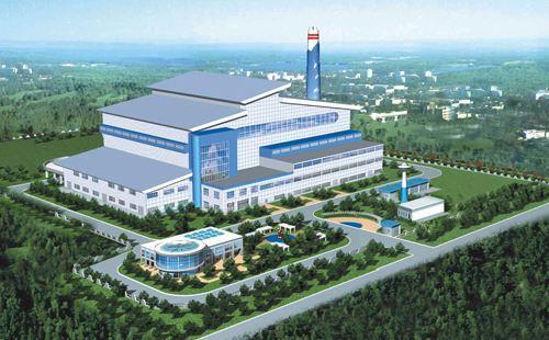 河南平舆县生活垃圾焚烧发电项目开工