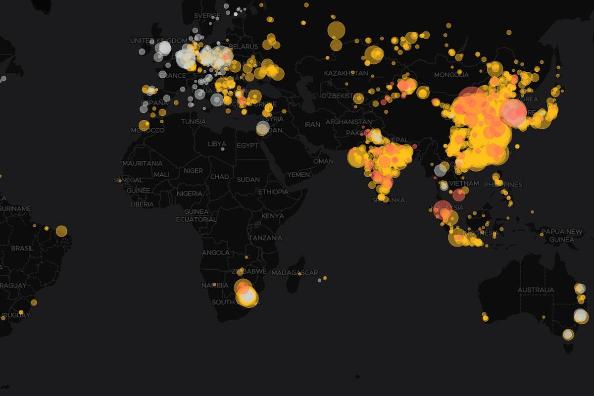一图绘尽全球燃煤电站