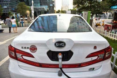 比亚迪上半年营收近622亿 新能汽车是主动力