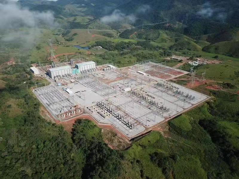 巴西美丽山二期±800千伏特高压换流站顺利通过负荷试验