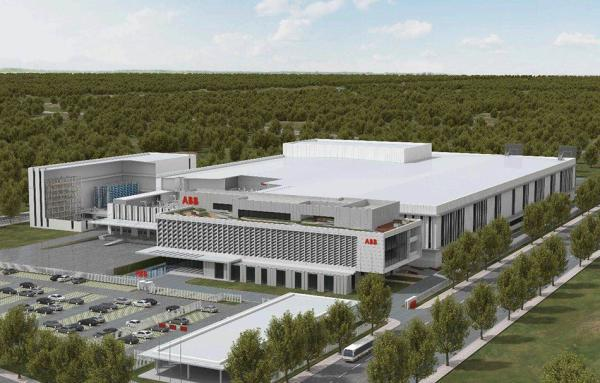 ABB上海机器人新工厂正式动工 项目总投资10亿元