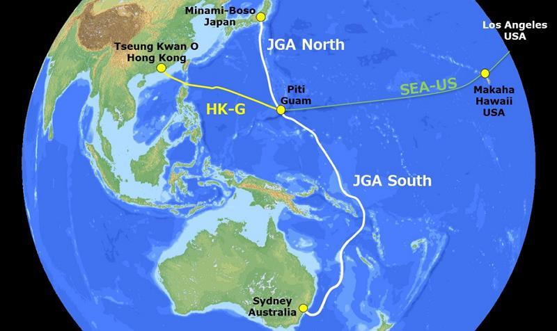 千叶-关岛-澳州北部海缆JGA-N将于明年一季度投产
