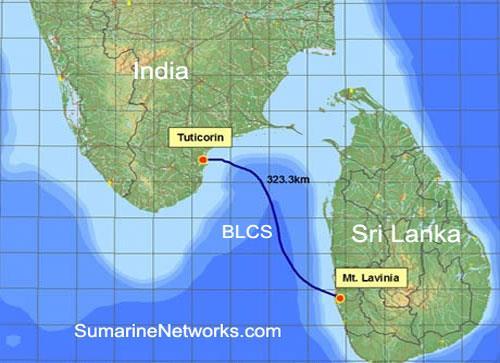 印度-斯里兰卡海底光缆系统BLCS恢复运营