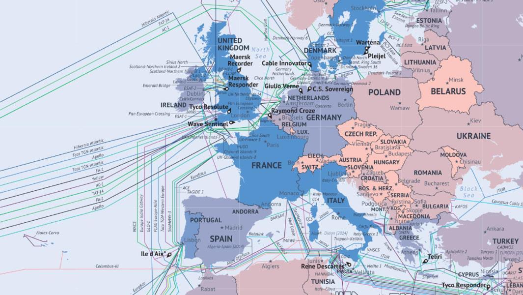 2019-27年欧洲海底光缆系统年复合长率达5.9%