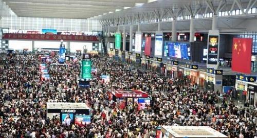 长三角铁路国庆假期客发量突破2600万人次创新高