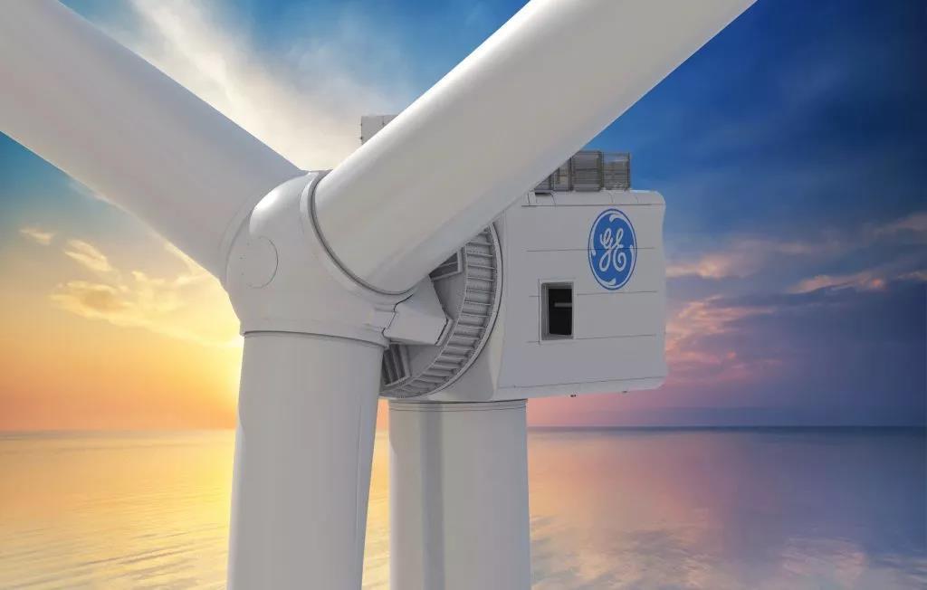 GE全球最大12MW风电机组发出第一度电
