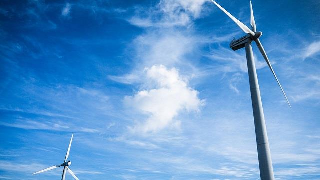 中核华兴老君庙风电项目风机基础完成混凝土浇筑
