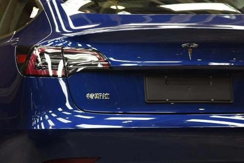 特斯拉中国制造Model 3 本周五将全面到店