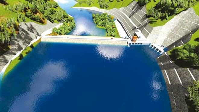 中企投建巴基斯坦SK水电站主厂房第五层开挖完工