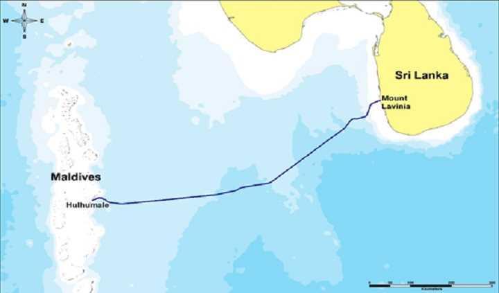 华为海洋承建马尔代夫-斯里兰卡海缆系统