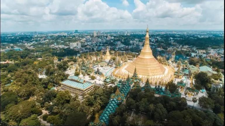 中企承建缅甸阿弄燃机发电厂基础底板混凝土浇筑完成