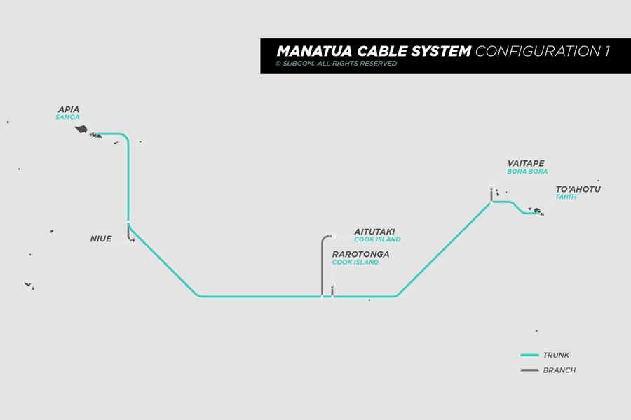 萨摩亚-大溪地海底光缆Manatua拟于6月投入商运