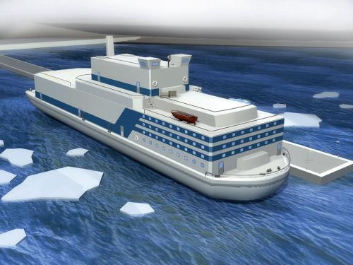 俄罗斯计划建造设计更优化的浮动核电站