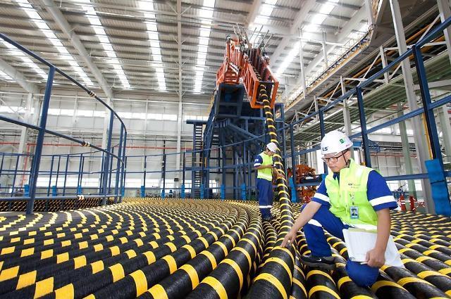 韩国LS电缆获巴林8400万美金海底电缆订单