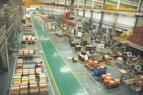 铜冠电工成功研发直径2.56毫米煤矿电缆用低氧铜线坯