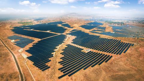 印度最大太阳能公园在拉贾斯坦邦建成投产