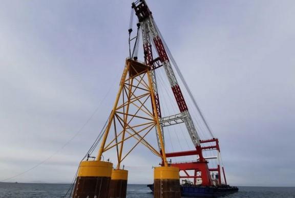华能集团山东301.6MW海上风电项目启动