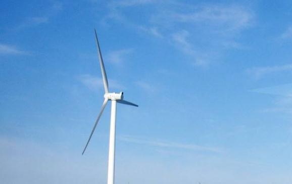 黑龙江绥滨县二九〇分散式风电项目开工