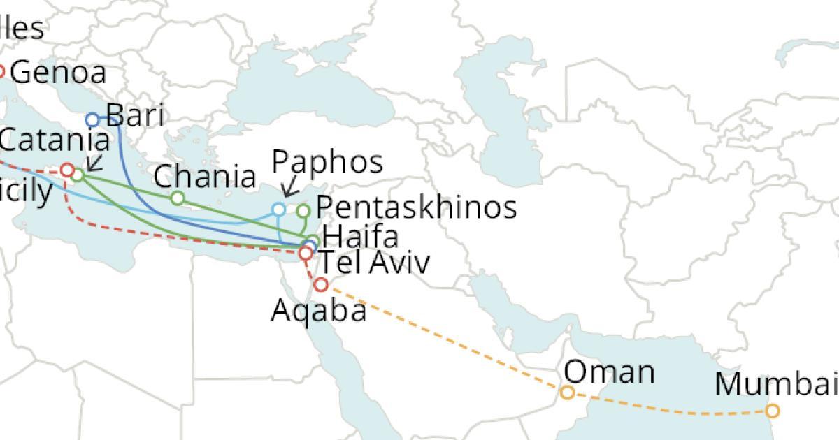 GOOGLE筹建新海缆系统 连接意大利、以色列和印度
