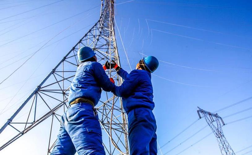 ±800千伏青豫特高压线路工程铁塔组立工作完成
