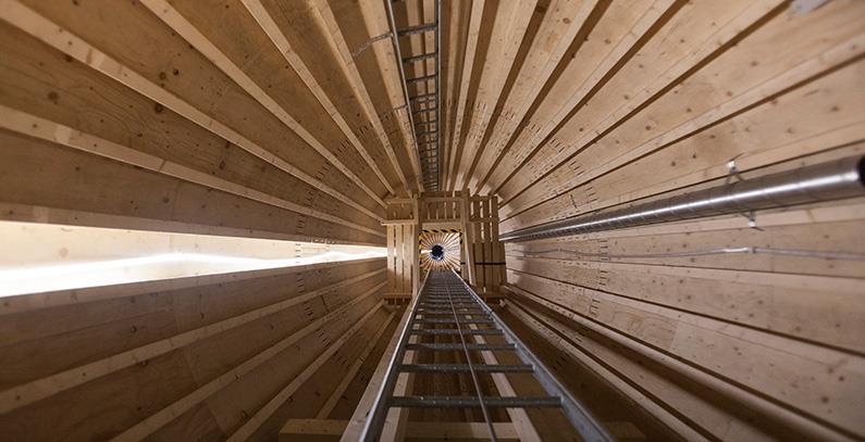 瑞典安裝歐洲最高木制風塔 擬于2022年商用