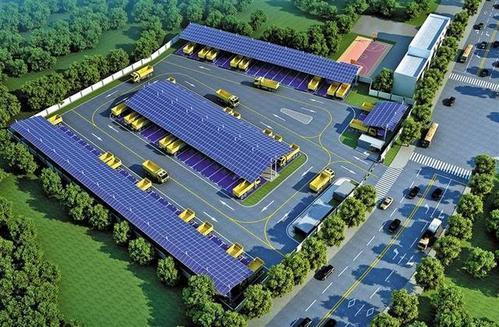 南網公司開建全國首個大規模工程車充電站
