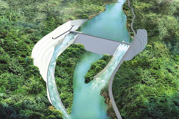 巴基斯坦SK水电站3号尾水支洞贯通