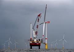 到2030年德國海上風電發展目標將增至20吉瓦