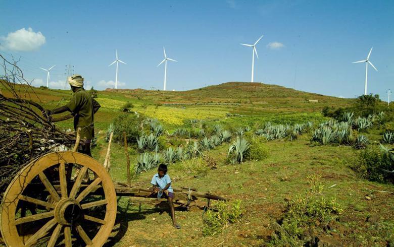 2017-18印度太陽能公司風電項目投產率不足33%