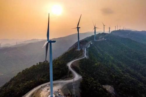 """华电广西企业多个风电项目""""火力全开"""""""