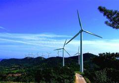 云南羅平阿崗風電項目首批4臺機組投產發電