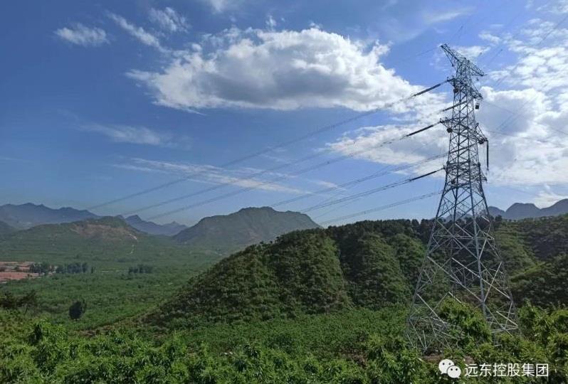 遠東復合技術參建承德東至陽樂雙回500 kV輸變電工程全線貫通
