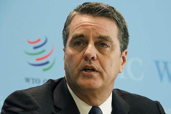 WTO:2020年二季度全球贸易预计同比下降约18.5%