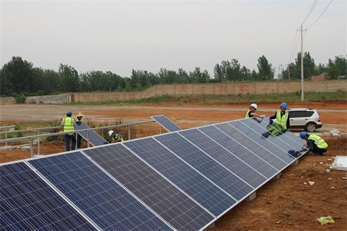 国网新疆电力完成11个光伏行政村通公共电网工程
