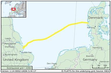 英国-丹麦海底高压直流系统Viking Link开建
