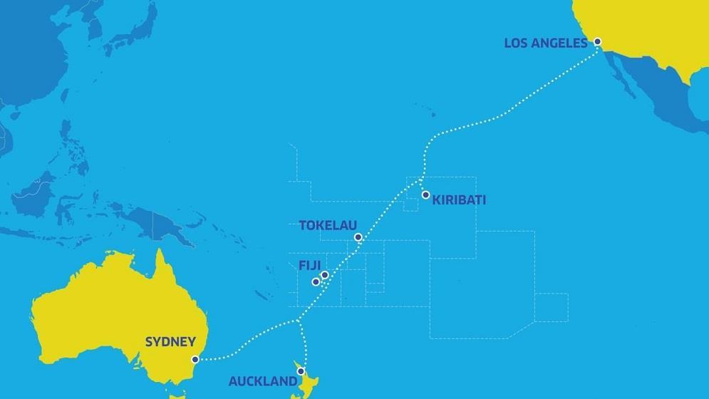 两条国际海底光缆系统获准登陆美国