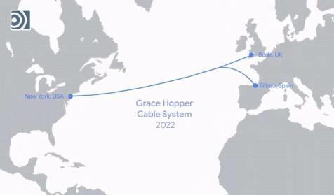 谷歌部署新欧美海底光缆系统Grace Hopper