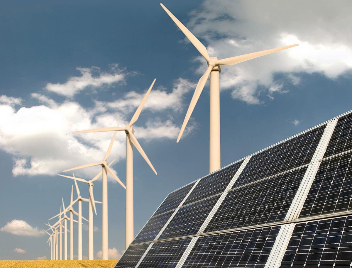 H1风能和太阳能发电量占全球总发电量10%