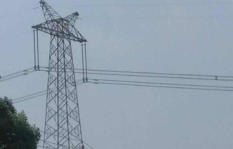 湖北咸宁白云山风电场110千伏并网线路完工