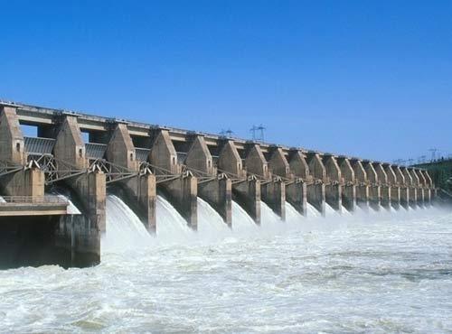 中企承建老挝南空3号水电站工程下闸蓄水