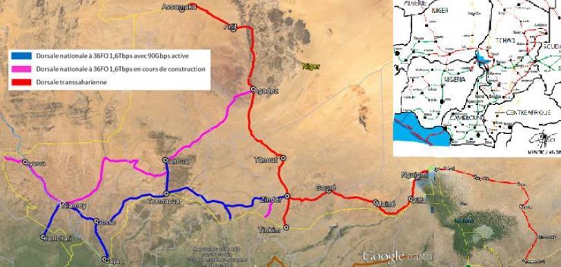 乍得-尼日尔跨境光纤网络即将开建