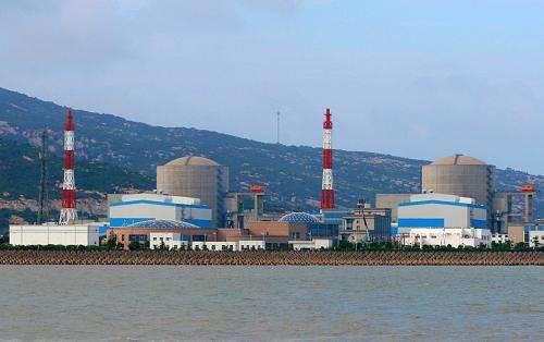 田湾核电站6号机组正式启动热态功能试验