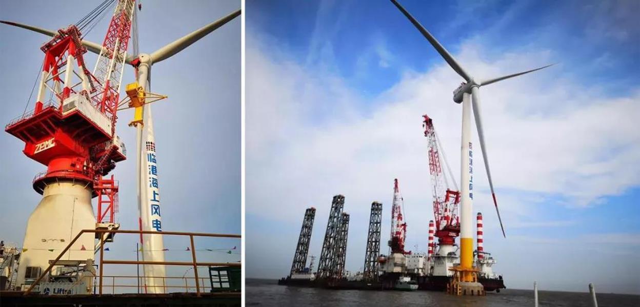 电缆如何让大风车转起来?