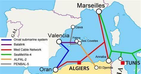西班牙-阿尔及利亚海缆系统ALVAL/ORVAL投运