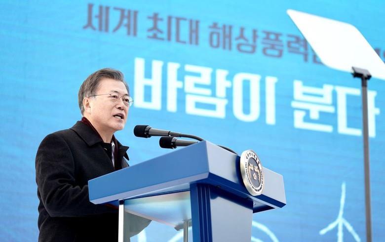 韩国计划斥资432亿美元建8.2吉瓦海上风电场