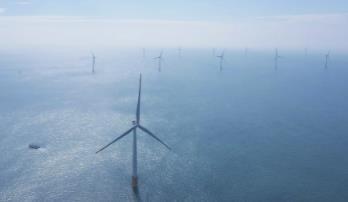 珠海金湾300兆瓦海上风电场项目全容量并网发电