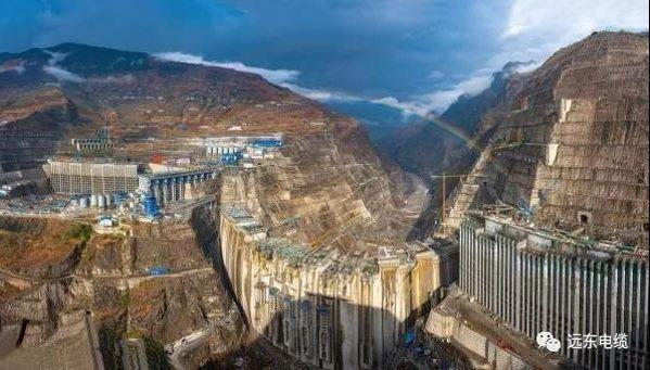 世界在建规模最大水电站白鹤滩水电站正式蓄水